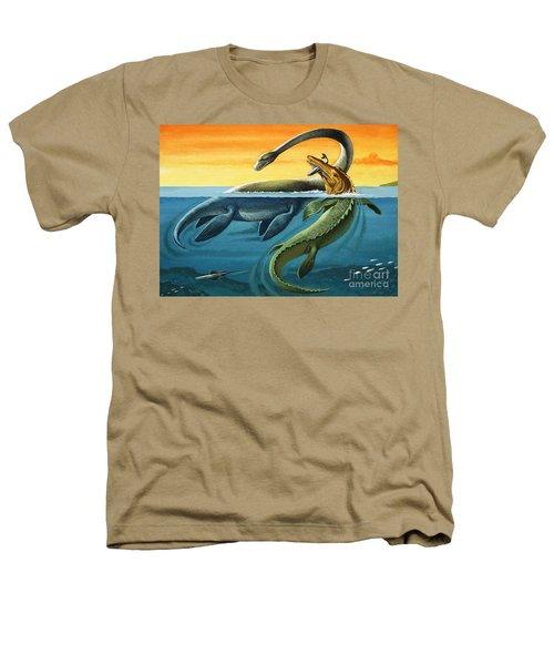 Prehistoric Creatures In The Ocean Heathers T-Shirt