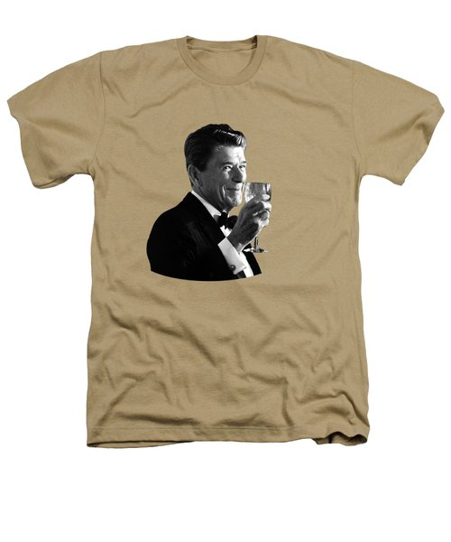 President Reagan Making A Toast Heathers T-Shirt