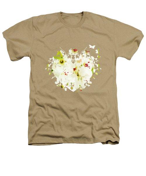Pretty Pear Petals Heathers T-Shirt by Anita Faye