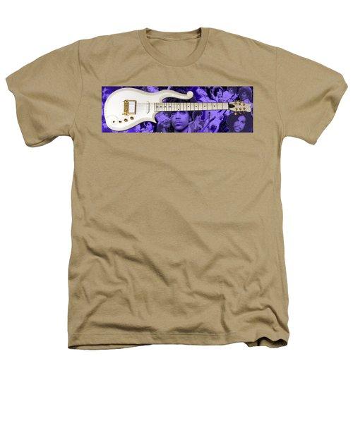 Purple Reign Heathers T-Shirt by Daniel Rojas