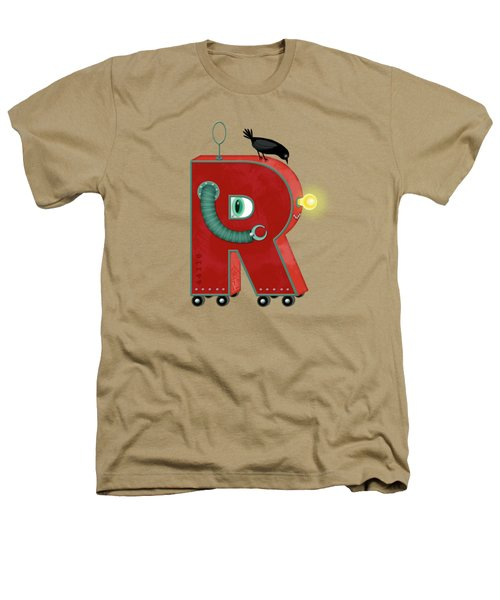 R Is For Robot Heathers T-Shirt by Valerie Drake Lesiak