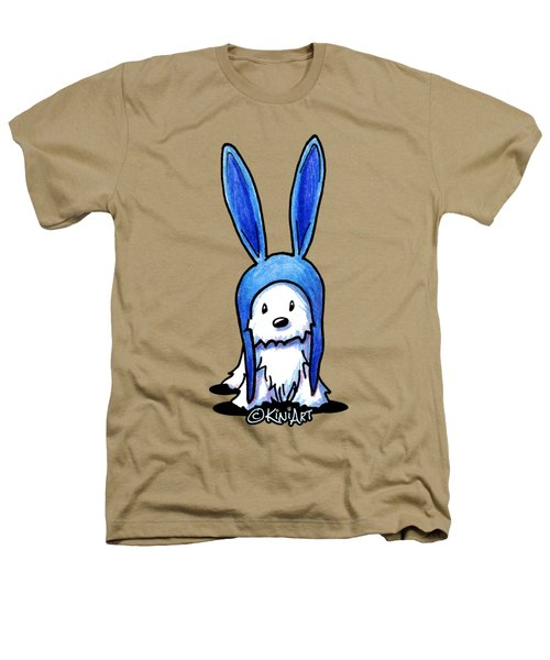 Rabbit Ears Westie Heathers T-Shirt by Kim Niles