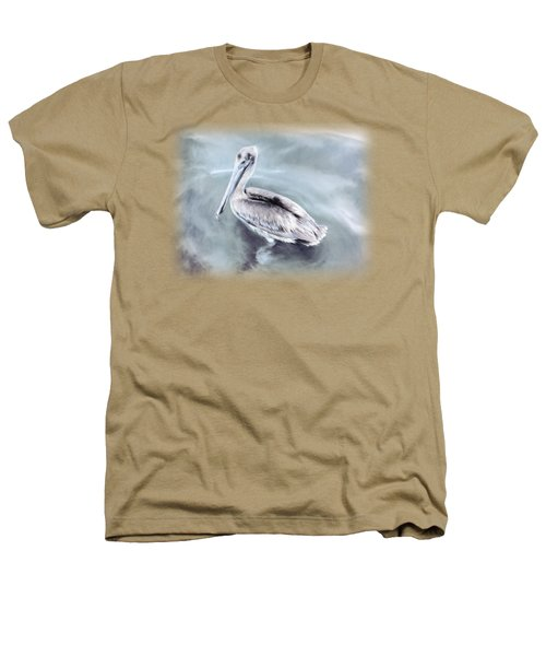Radiant Pelican Heathers T-Shirt