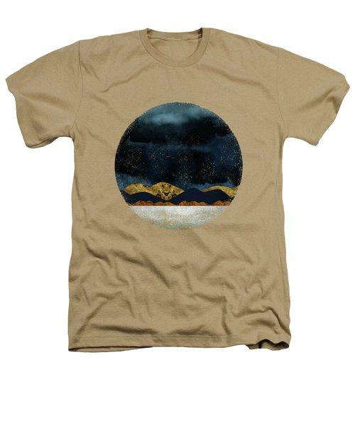 Rain Heathers T-Shirt by Katherine Smit