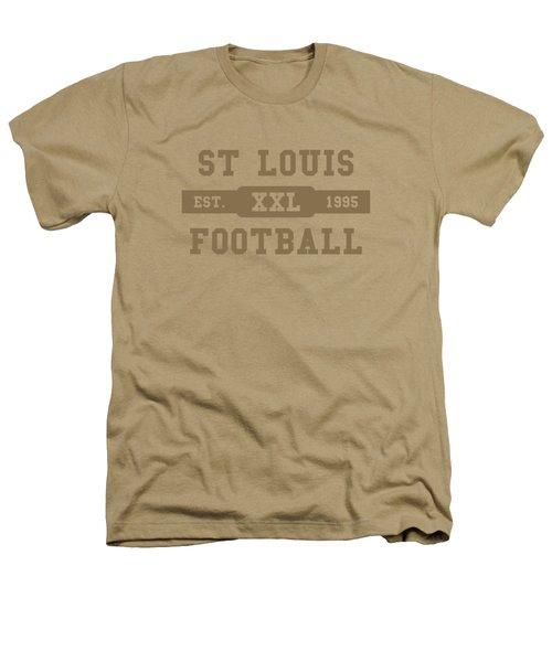Rams Retro Shirt Heathers T-Shirt by Joe Hamilton