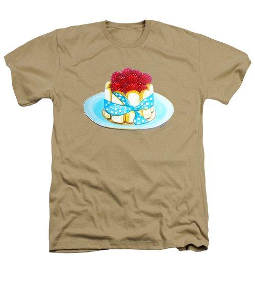 Raspberry Finger Biscuit Dessert Illustration Heathers T-Shirt by Sonja Taljaard