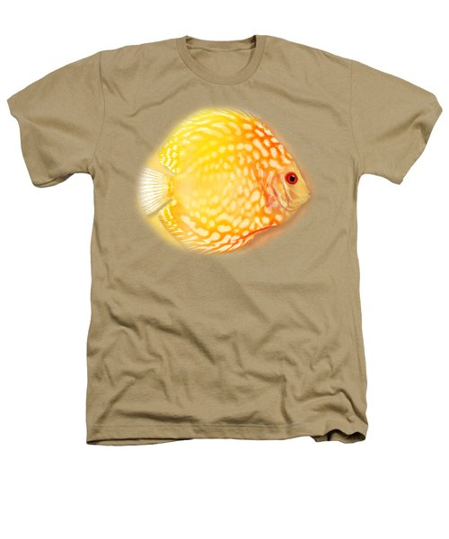 Red Pigeon Blood Discus No 01 Heathers T-Shirt
