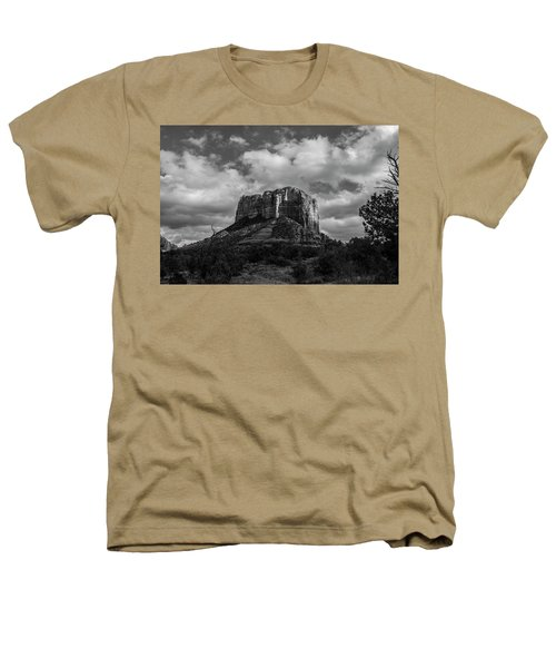 Red Rocks Sedona Bnw 1 Heathers T-Shirt by David Haskett