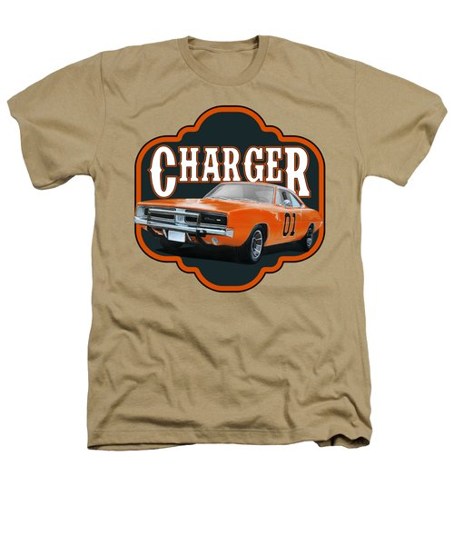 Retro Charger Heathers T-Shirt