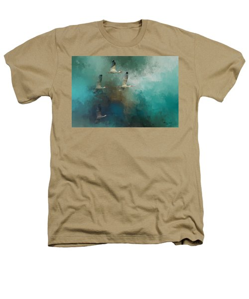 Riding The Winds Heathers T-Shirt by Marvin Spates