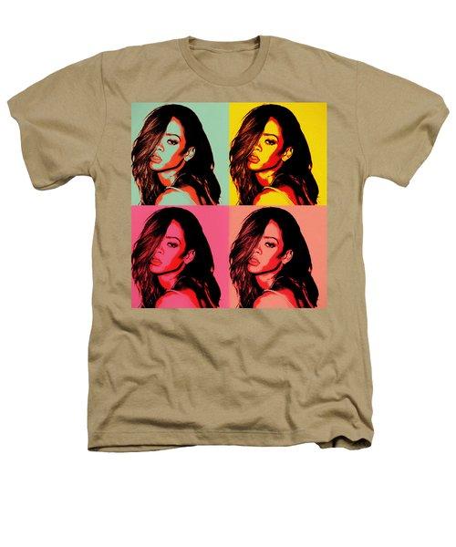 Rihanna Pop Art Heathers T-Shirt