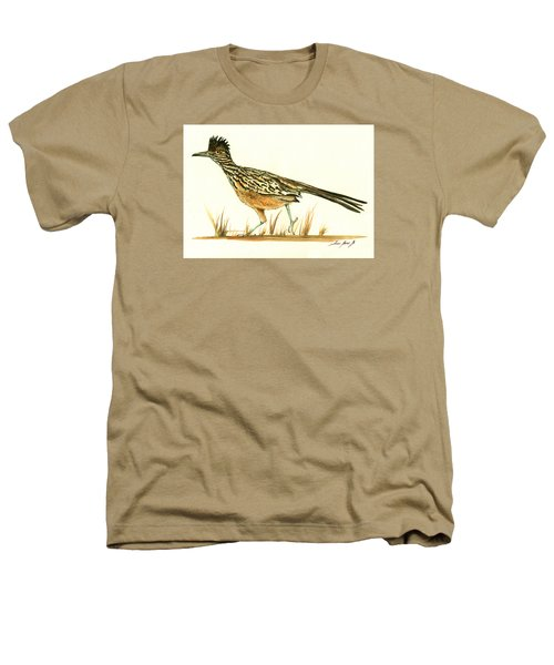 Roadrunner Bird Heathers T-Shirt