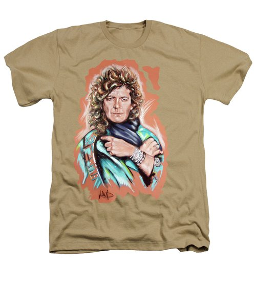Robert Plant Heathers T-Shirt by Melanie D