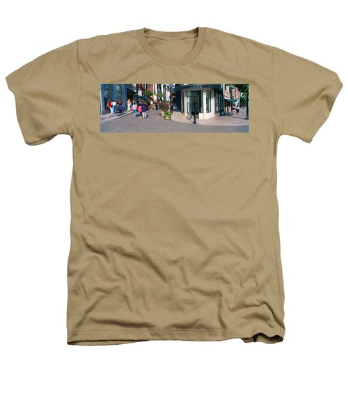 Rodeo Drive, Beverly Hills, California Heathers T-Shirt by Panoramic Images