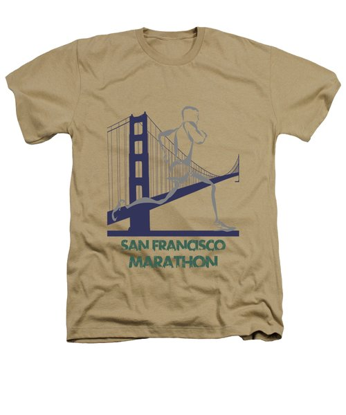 San Francisco Marathon2 Heathers T-Shirt by Joe Hamilton