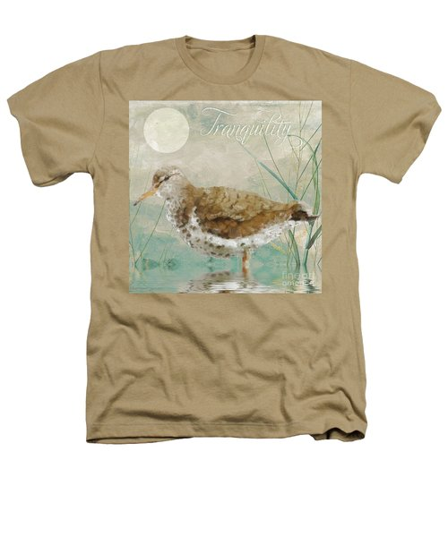 Sandpiper II Heathers T-Shirt by Mindy Sommers