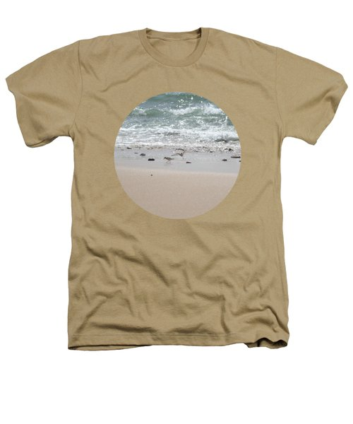 Sandpipers In Tideland Heathers T-Shirt