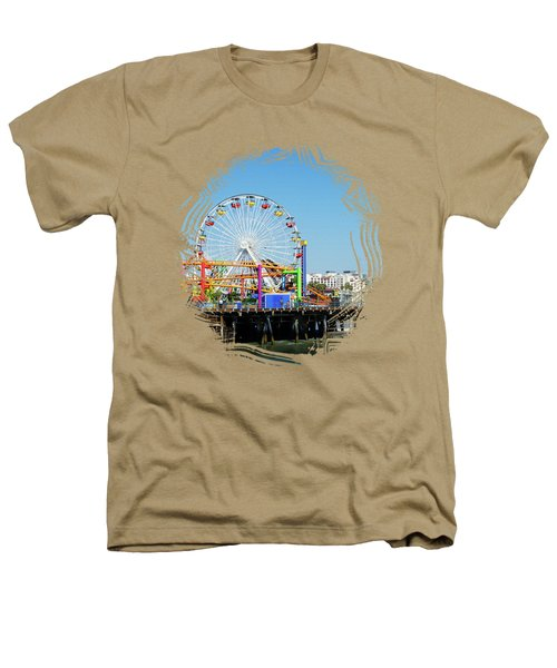 Santa Monica Ferris Wheel Heathers T-Shirt