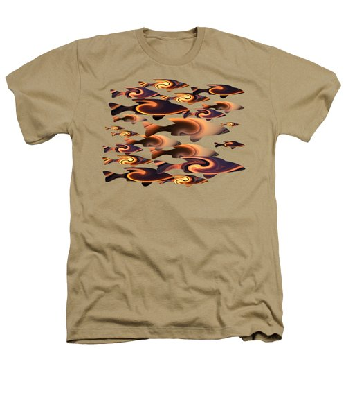 School Of Fish 2 Heathers T-Shirt