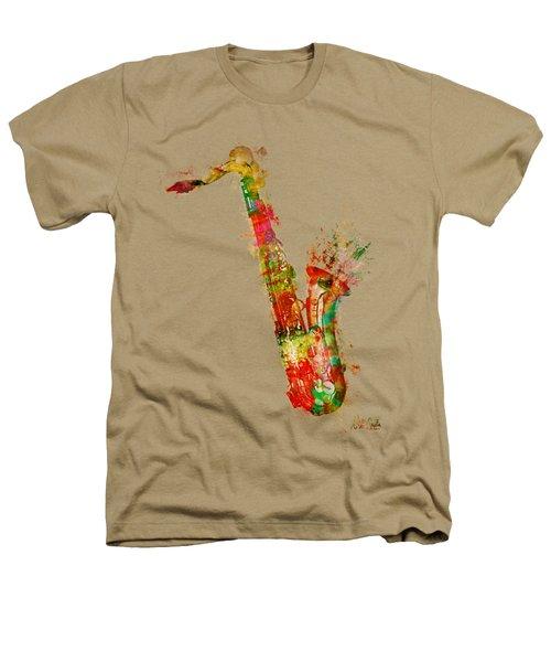 Sexy Saxaphone Heathers T-Shirt by Nikki Smith