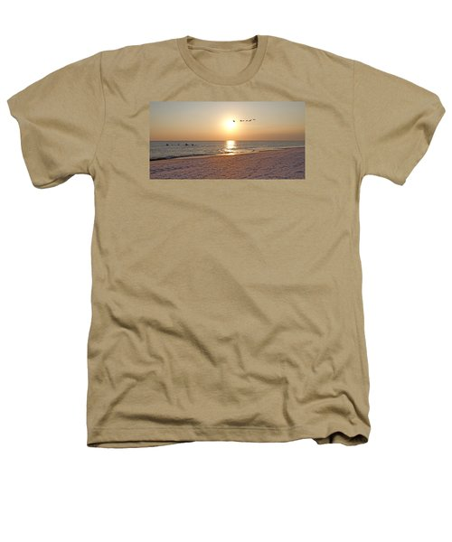 Shackleford Banks Sunset Heathers T-Shirt by Betsy Knapp