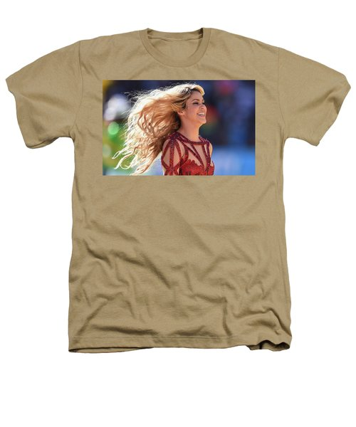 Shakira Brazil Heathers T-Shirt