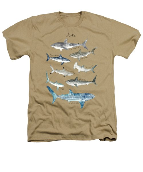 Sharks Heathers T-Shirt