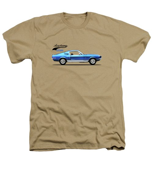 Shelby Mustang Gt500 1968 Heathers T-Shirt by Mark Rogan