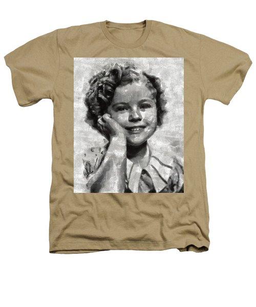 Shirley Temple By Mary Bassett Heathers T-Shirt by Mary Bassett