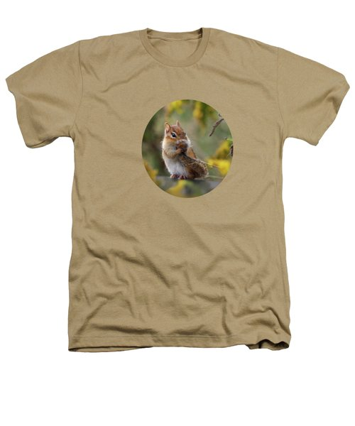 Shy Little Chipmunk Heathers T-Shirt