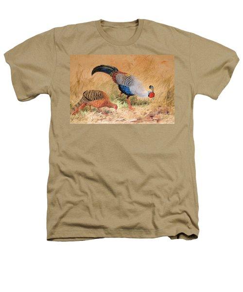 Siamese Pheasant  Heathers T-Shirt by Joseph Wolf