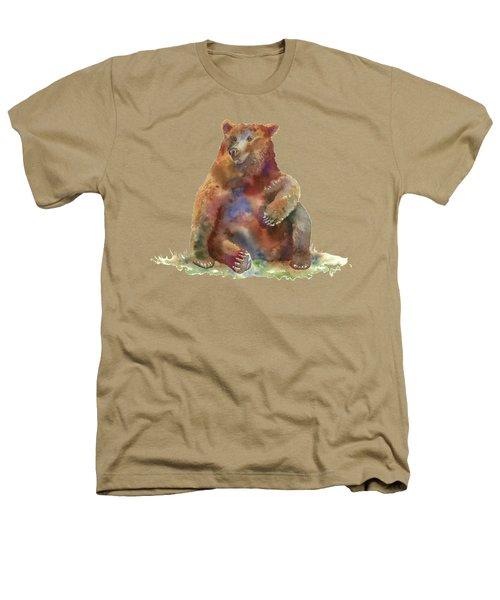 Sitting Bear Heathers T-Shirt