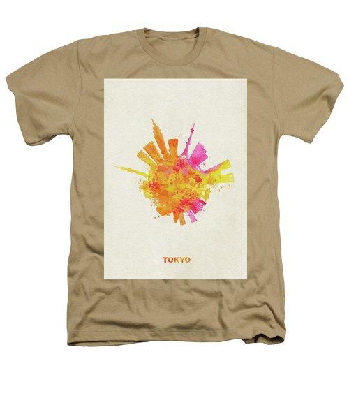 Skyround Art Of Tokyo, Japan  Heathers T-Shirt