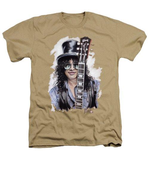 Slash 1 Heathers T-Shirt by Melanie D