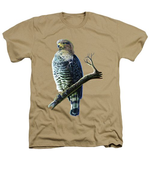 Southern Banded Snake Eagle Heathers T-Shirt