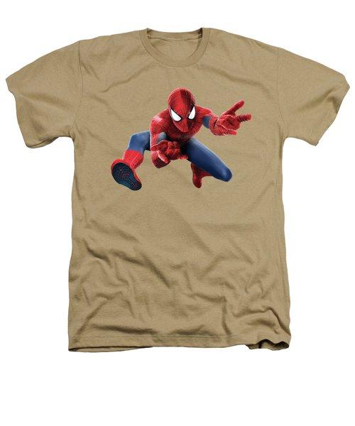 Spider Man Splash Super Hero Series Heathers T-Shirt