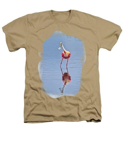 Spoonbill 1 Heathers T-Shirt by John M Bailey