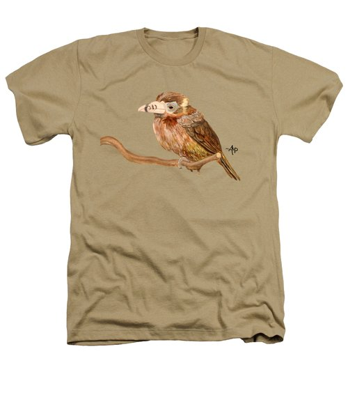 Spot-billed Toucanet Heathers T-Shirt by Angeles M Pomata