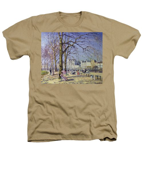 Spring In Hyde Park Heathers T-Shirt by Alice Taite Fanner