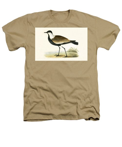 Spur Winged Plover Heathers T-Shirt