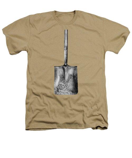 Square Point Shovel Down 3 Heathers T-Shirt