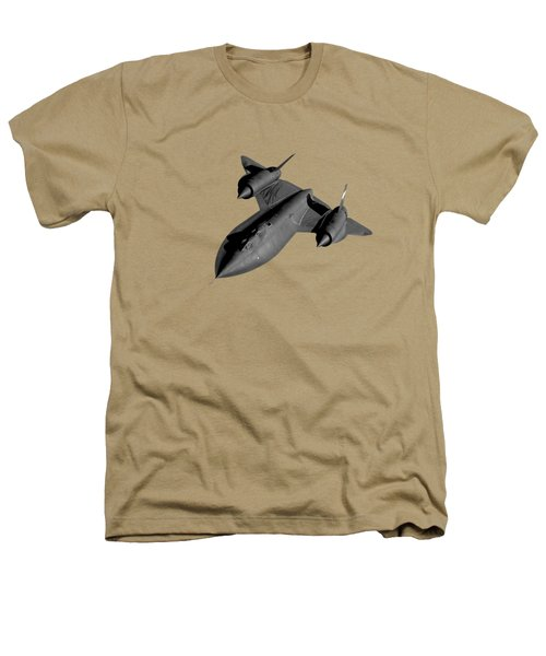 Sr-71 Blackbird Flying Heathers T-Shirt by War Is Hell Store