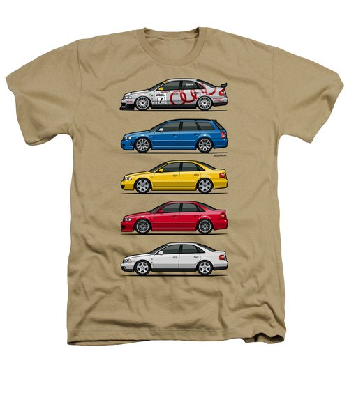 Stack Of Audi A4 B5 Type 8d Heathers T-Shirt by Monkey Crisis On Mars