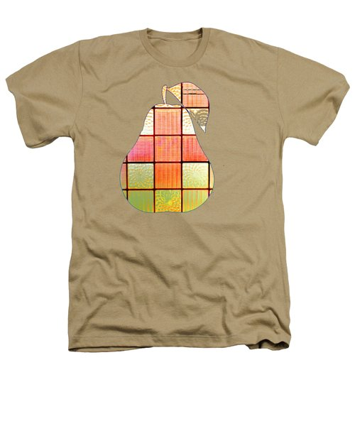 Stained Glass Pear Heathers T-Shirt