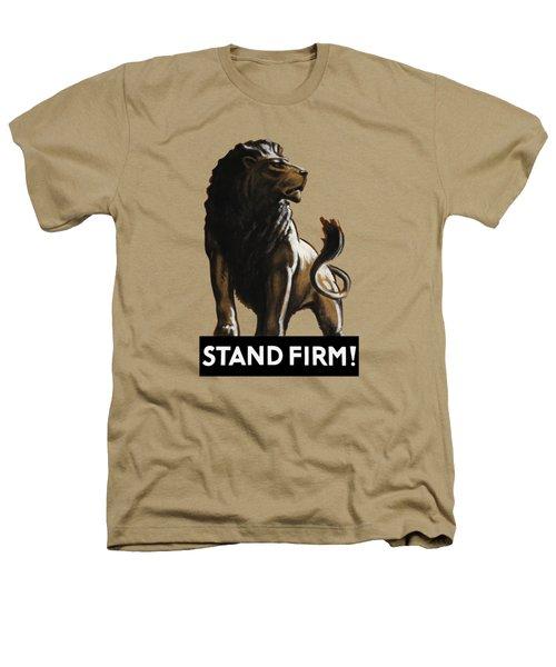 Stand Firm Lion - Ww2 Heathers T-Shirt