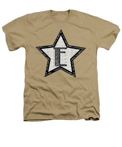 Star Of The Show Art Deco Style Letter E Heathers T-Shirt