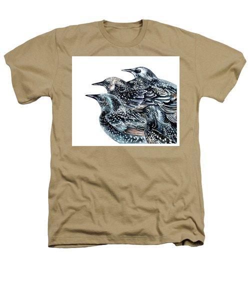 Starlings Heathers T-Shirt by Marie Burke