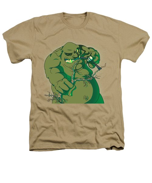 Storybook Ogre Shooting Heads Heathers T-Shirt by Jorgo Photography - Wall Art Gallery