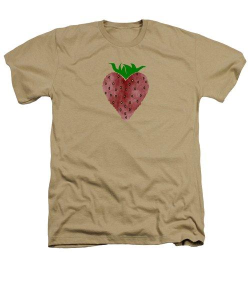 Strawberries Heathers T-Shirt by Kathleen Sartoris