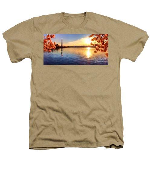 Sunrise On The Tidal Basin Heathers T-Shirt
